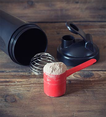 whey protein shaker